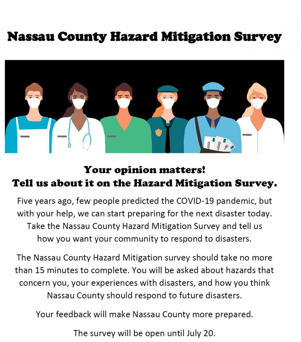 Nassau County Hazard Mitigation Survey