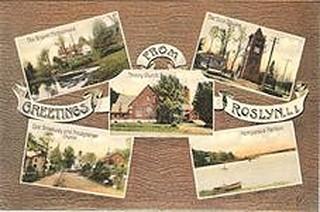 Greetings from Roslyn